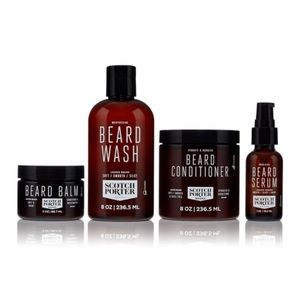 Men's Scotch Porter 4 Piece Beard Collection Gift